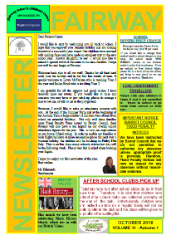 Newsletter oct